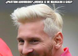 Enlace a Messi rompiendo récords