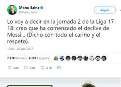 Enlace a Manu Sainz, otra vez retatado