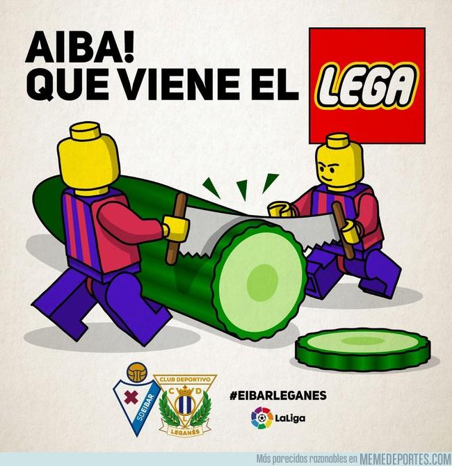 998998 - El Eibar preparando el partido contra el Leganés con humor