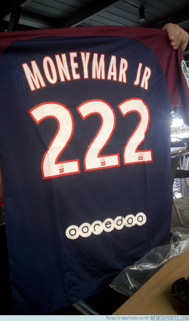 999015 - La camiseta de los aficionados del PSG que aman al PSG pero odian a Neymar