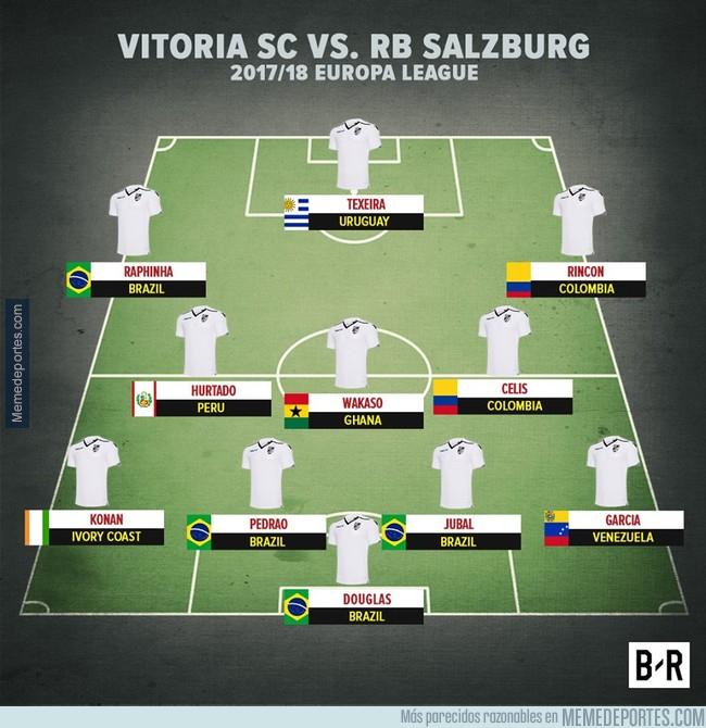 999271 - Vitoria SC primer equipo en jugar en EL sin un solo jugador europeo