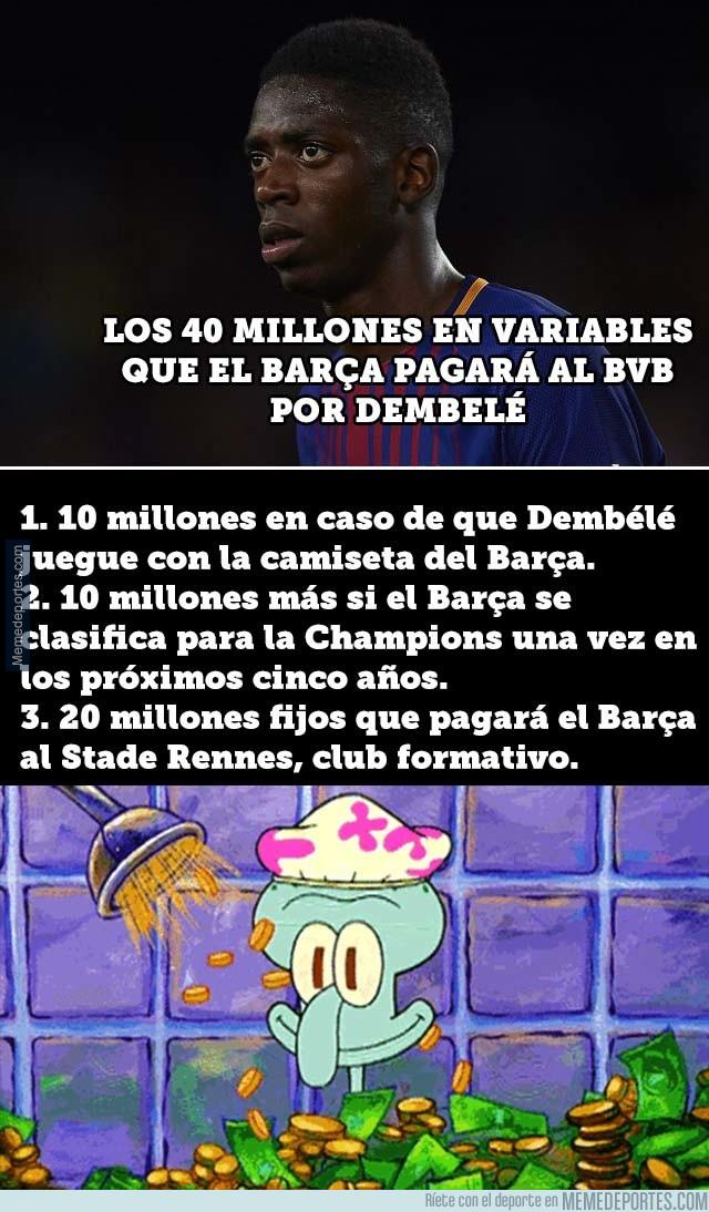999306 - El motivo por el que el precio de Dembélé será 140 millones de euros
