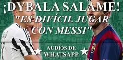 Enlace a El audio de WhatsApp sobre Dybala que se llama está haciendo viral en Argentina