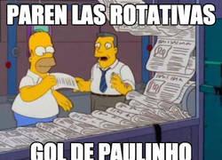Enlace a Paulinho se estrena con el Barça