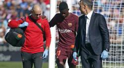 Enlace a Drama culé al saber el tiempo de baja que estará lesionado Dembelé