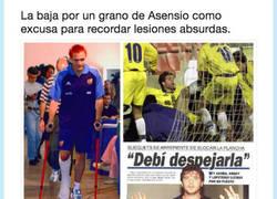 Enlace a Lesiones abusrdas en el mundo del fútbol