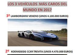 Enlace a Los 3 vehículos más caros del mundo