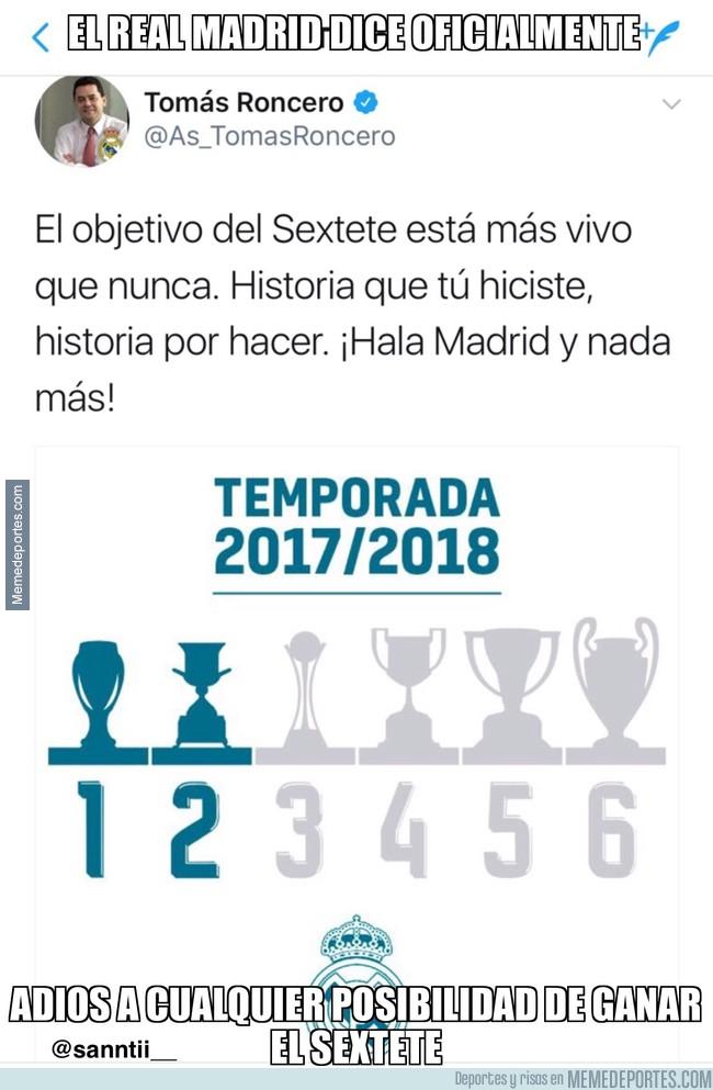 999856 - El gafe de Roncero acaba con cualquier posibilidad del Madrid esta temporada...