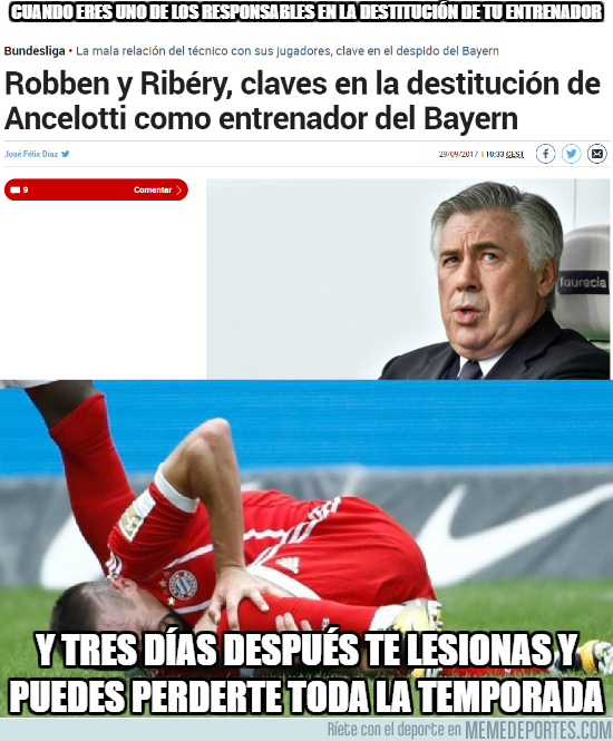 1001868 - El Karma implacable con Ribery