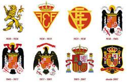 Enlace a La evolución del escudo de la Roja