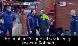 Enlace a Van Gaal, el escogido por Robben como posible reemplazo de Ancelotti en el Bayern