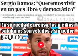 Enlace a Rueda de prensa de Ramos y los medios Catalanes