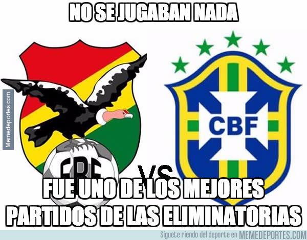 1002169 - Partidazo de las Eliminatorias Bolivia 0 - 0 Brasil