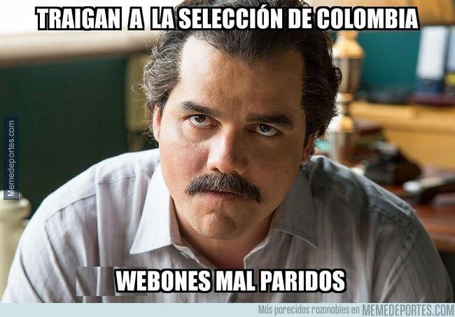 1002192 - Escobar enfadado con Colombia