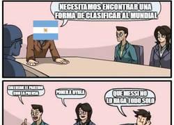 Enlace a Los Argentinos son exigentes