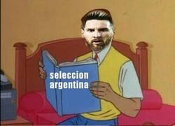 Enlace a Messi no se lo puede creer