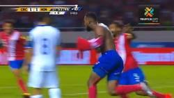 Enlace a Emotiva narración de la televisión costarricense con el gol que los clasifica al último minuto