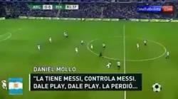 Enlace a Locutor argentino enloquece y deja por el suelo a Messi por no salvar a Argentina