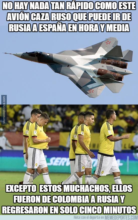 1002575 - Colombia a superado las velocidades conocidas por el hombre