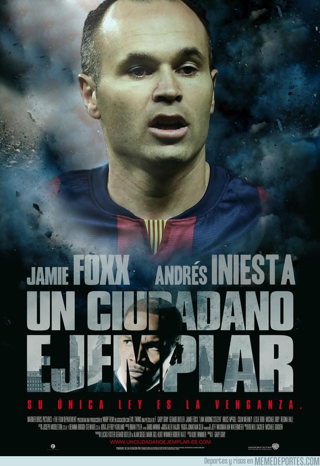 1002717 - Si los jugadores de fútbol fueran protagonistas de películas: [Andrés Iniesta]