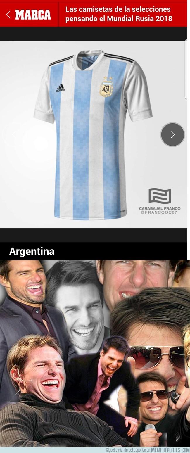 1002769 - Camiseta pensadas para el mundial de Rusia