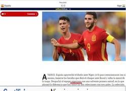 Enlace a Periodismo deportivo. Descripción gráfica