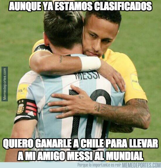 1002798 - Neymar le echará una mano a Lionel Messi para que vaya al Mundial