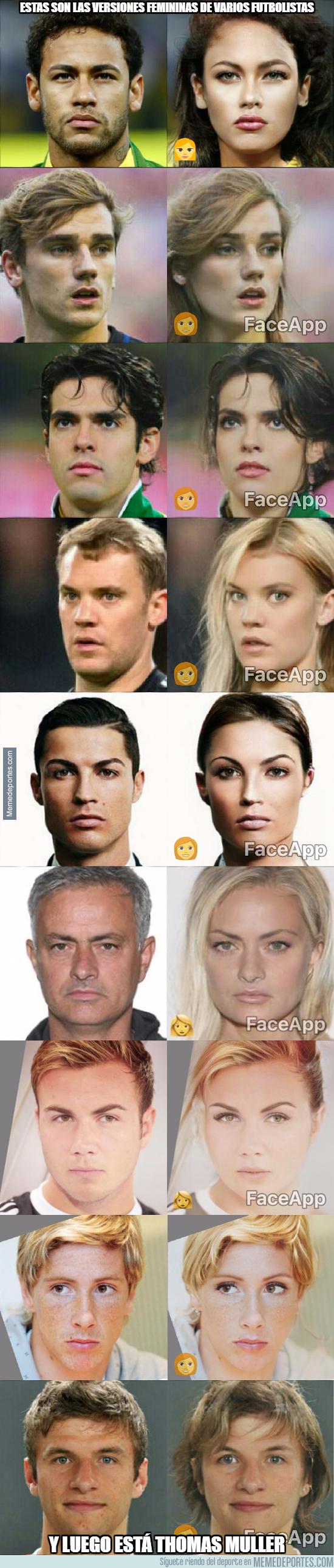1002845 - Las versiones femeninas de varios futbolistas ¿Con cuál te quedas tú?