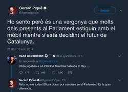 Enlace a Rafa Guerrero se enzarza en una pelea tuitera con Gerard Piqué