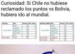 Enlace a Chile se condenó a sí misma