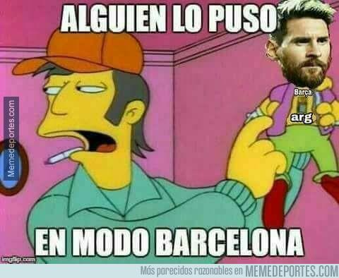 1003031 - La realidad de la noche mágica de Messi