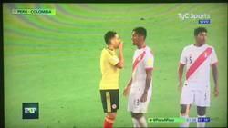 Enlace a Las imágenes de la eliminatoria: Colombia y Perú pactan el empate para eliminar a Chile