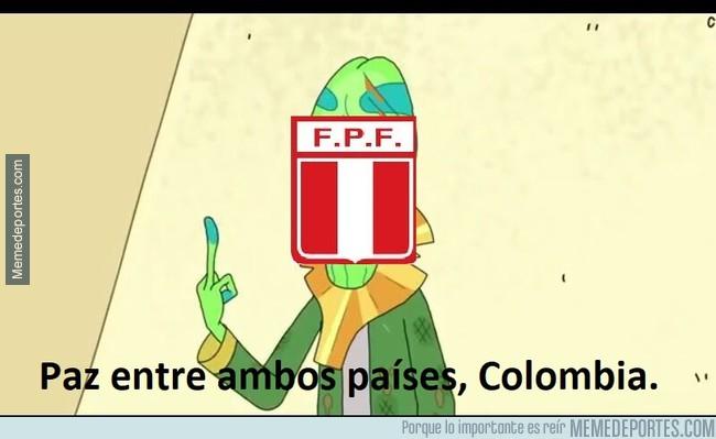1003114 - Perú tenía dos opciones, arriesgarse a un gol de Colombia o aceptar la repesca