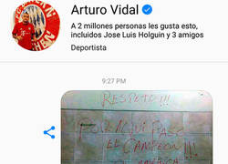 Enlace a Las bromas a Vidal continúan