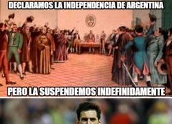 Enlace a ¿Te imaginas que la independencia en Argentina hubiera sido como en Catalunya?