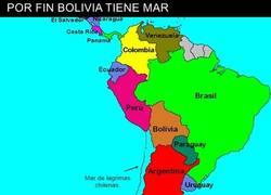 Enlace a Bolivia encuentra oceano