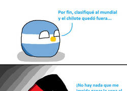 Enlace a Argentina, no te rías mucho