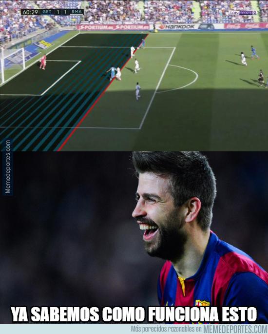 1003714 - El polémico gol en fuera de juego del Getafe