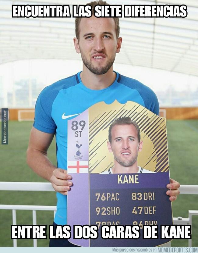 1003832 - Encuentra las 7 diferencias entre las dos caras de Kane