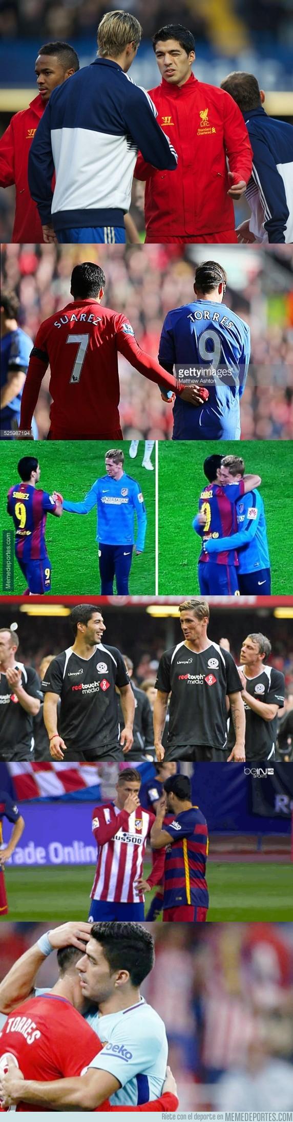 1003954 - Una de las buenas amistades que ha dejado el fútbol