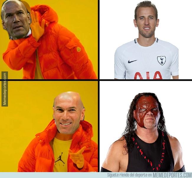 1004241 - Zizou prefiere a otro Kane de delantero
