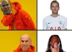 Enlace a Zizou prefiere a otro Kane de delantero