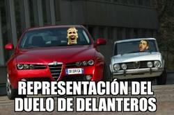 Enlace a Duelo de delanteros en el Bernabéu
