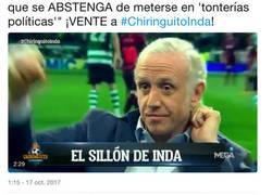 Enlace a El ZASCA a Inda con esta imagen tras insinuar que Messi le dijo a Piqué que pase de política