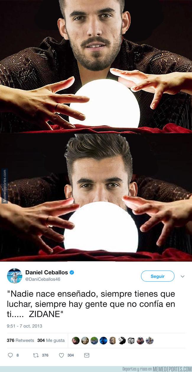1004443 - Dani Ceballos sabía el futuro que le esperaba en el Madrid y lo escribió en Twitter en 2013