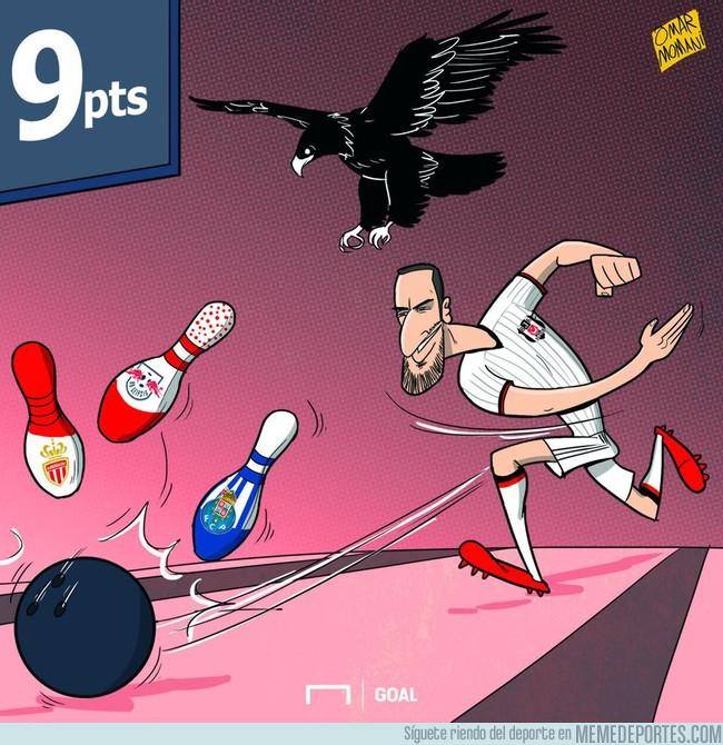 1004581 - El Beşiktaş se está saliendo, 9 de 9 puntos posibles. Vía Omar Momani