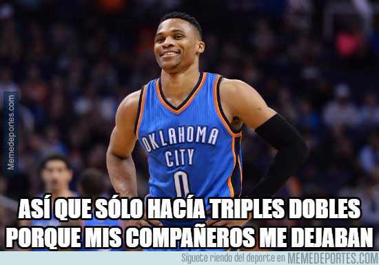 1004704 - Westbrook sigue a lo suyo