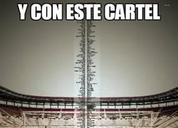 Enlace a Cartel del Murcia para picar a Messi