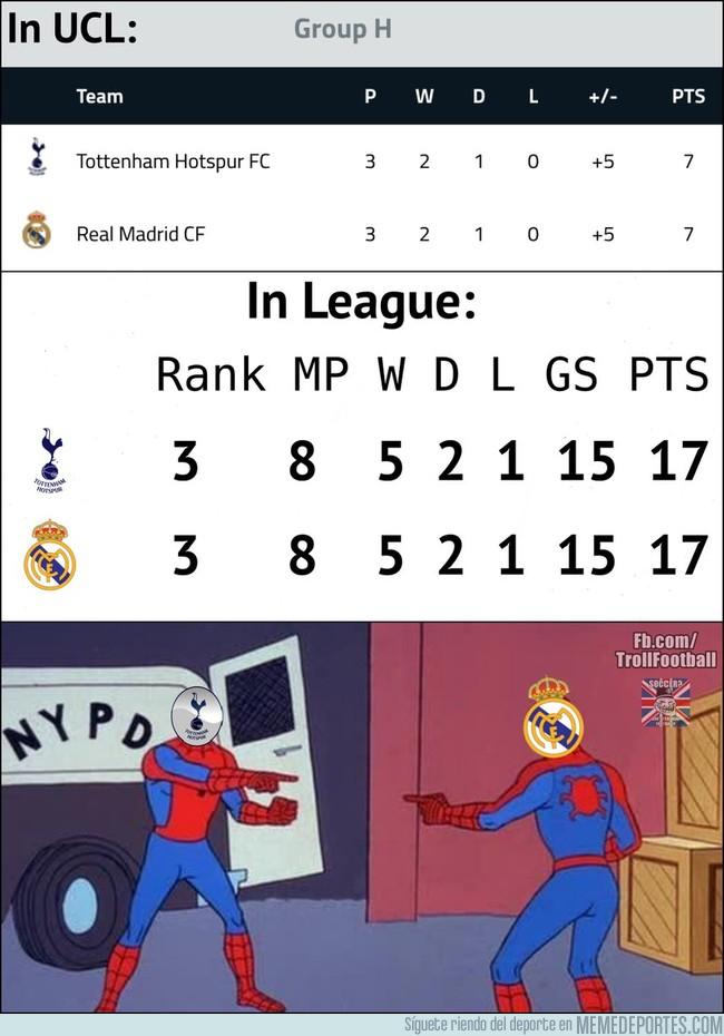 1004746 - Mientras tanto el Tottenham y el Real Madrid