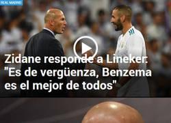 Enlace a Zidane siempre apoya a Benzema